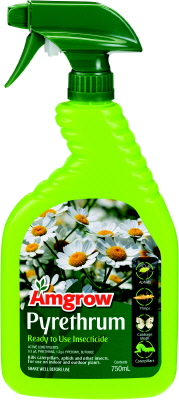 INSECTICIDE - PYRETHRUM  PEST SPRAY -  750ml