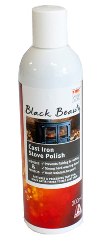 CAST IRON STOVE POLISH - 200ML