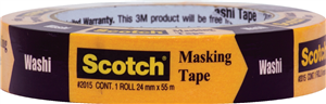 MASKING TAPE - WASHI -  24mm x 55m