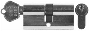 CYLINDER LOCK - PIN TYPE  - DOUBLE SIDED