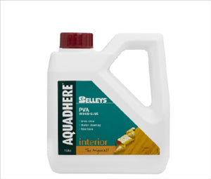AQUADHERE - 1 litre  - PVA WOOD GLUE