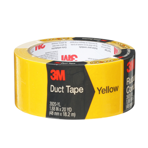 CLOTH/DUCT TAPE -YELLOW - 48mm x 18.2m