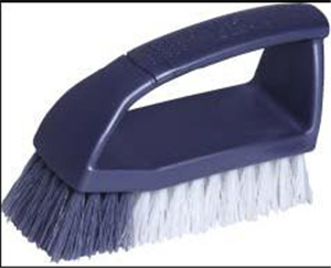 BRUSH - SCRUBBING BRUSH WITH HANDLE - OATES