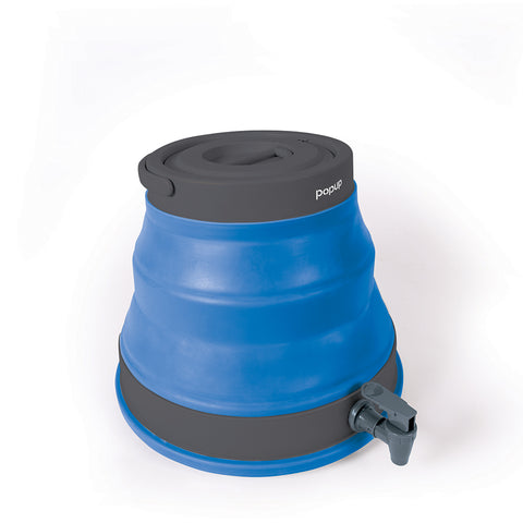 POP UP WATER CARRIERS - 12 LITRES - BLUE