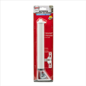 SCREEN DOOR CLOSER - WHITE - LANE