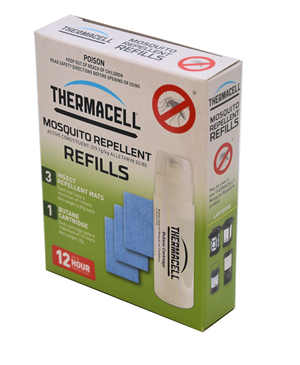 MOSQUITO REPELLER - THERMACELL - REFILL - 12 HR