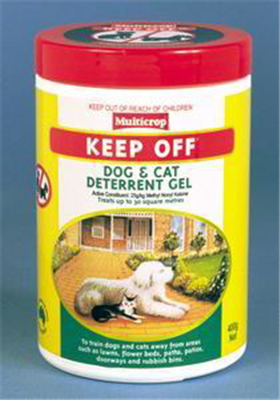REPELLENT - KEEP OFF - ANIMAL REPELLENT  400G
