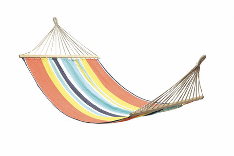 HAMMOCK - ANYWHERE DOUBLE HAMMOCK WITH TIMBER RAILS