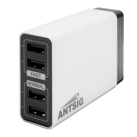 CHARGER - QUAD USB - 6.8A - 4 PORT - ARLEC