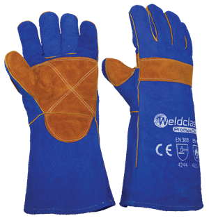 GLOVES - WELDING -  PROMAX - BLUE