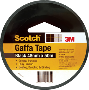 GAFFA TAPE - SILVER - 48MM x 50M - SCOTCH 3M