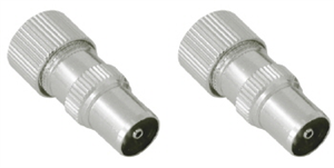 COAXIAL CONNECTOR - M/F PAIR