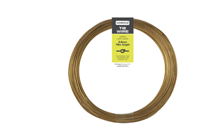 COPPER TIE WIRE - 0.6mm x 18m - 50gm