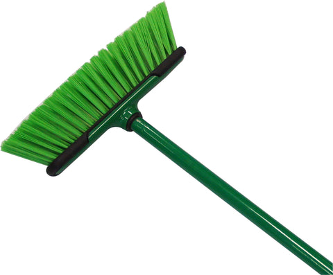 BROOM - 300mm  - OUTDOOR BROOM - STEEL HANDLE