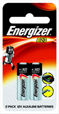 ALKALINE - A23 - REMOTE CONTROL -  2 PACK - ENERGIZER