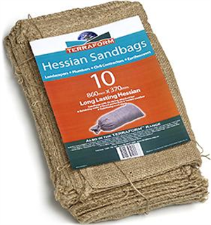 SANDBAG - HESSIAN -  each
