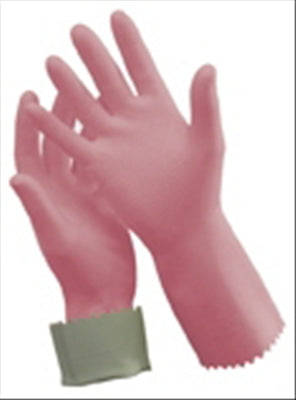 GLOVE RUBBER - SILVER LINED  7-71/2