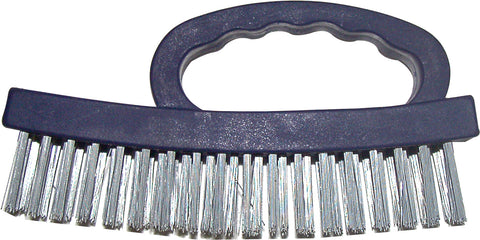 WIRE BRUSH - BLOCK - WITH TOP HANDLE