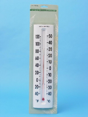 WALL THERMOMETER - INDOOR/OUTDOOR - 360mm
