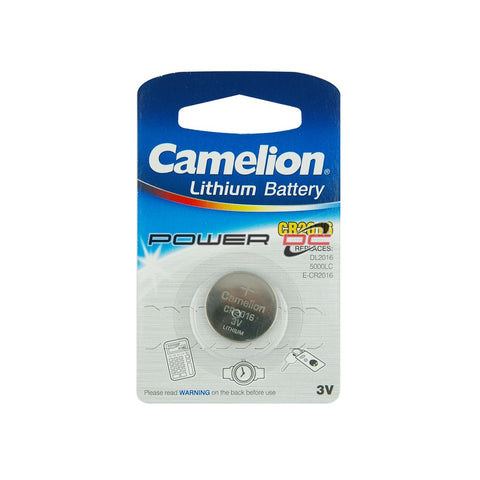 CR2016 - LITHIUM BATTERY  - CAMELION
