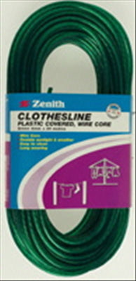 CLOTHESLINE - WIRE - PVC/STEEL - 4mm x 30 metres