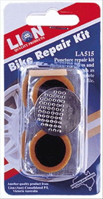 BICYCLE TYRE REPAIR KIT - LION
