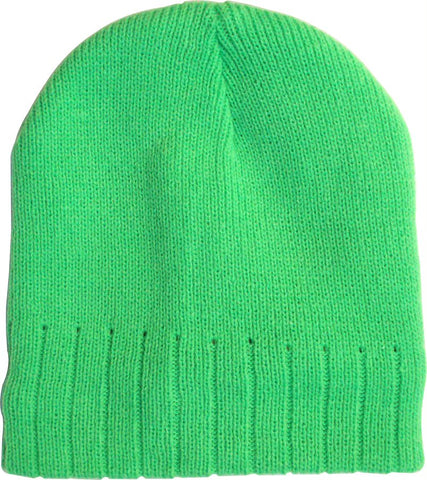 BEANIE - GREEN - LINED