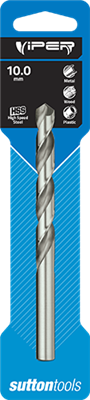 10mm DRILL BIT - VIPER  -  METRIC   HSS