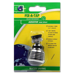 AERATOR SINK SPRAY BLACK