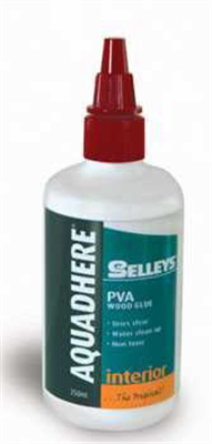 AQUADHERE - 250ml - PVA WOOD GLUE
