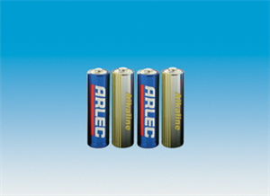 BATTERIES - AA ALKALINE - 4 PACK