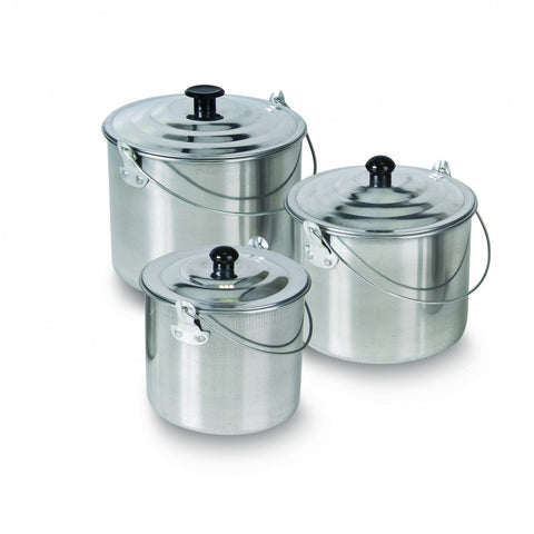BILLY CAN SET - 3 PIECE - ALUMINIUM