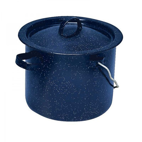 ENAMEL BILLY CAN - BLUE - CAMPFIRE