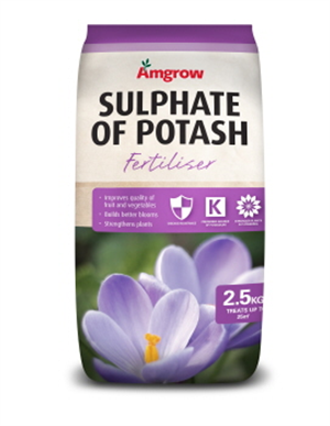 SULPHATE OF POTASH - SOIL CONDITIONER - 2.5kg - AMGROW