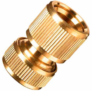 CONNECTOR HOSE BRASS CLICK 12mm POPE