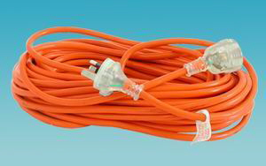EXTENSION LEAD - CARAVAN - 15amp - 10 Metre
