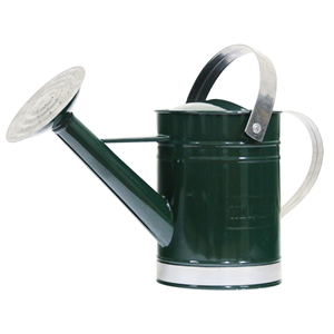 Watering Can -  9 Litre  METAL - GREEN