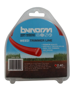 Line Trimmer Red 2.4mm x125g