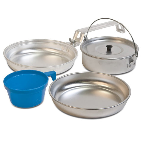 MESS KIT 5 PIECE ALUMINIUM