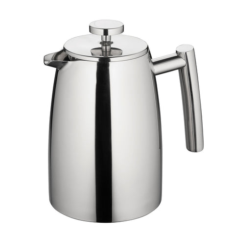 COFFEE PLUNGER - MODENA STAINLESS STEEL TWIN WALL - 1 LITRE