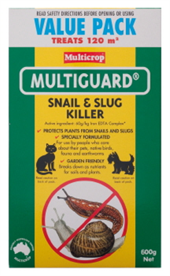 SNAIL & SLUG KILLER 600g MULTIGUARD