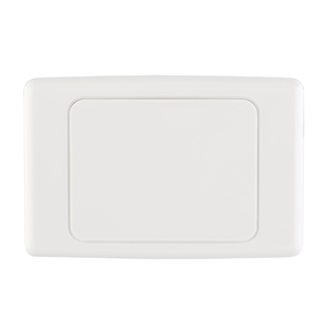 WALL BLANKING PLATE - WHITE
