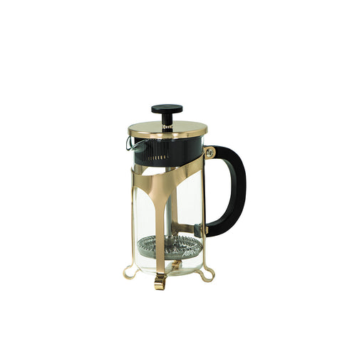 PLUNGER - GLASS CAFE PRESS COFFEE PLUNGER - 3 CUP - GOLD - AVANTI