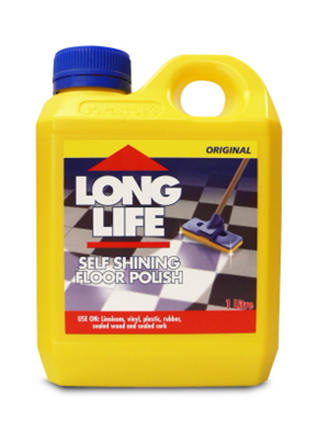 FLOOR SELF SHINE POLISH - 1 Litre - LONG LIFE