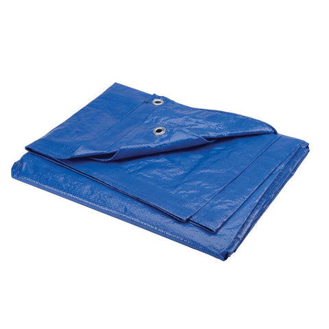 Tarpaulin Workforce Medium Duty Poly  5.4m x 6.0m