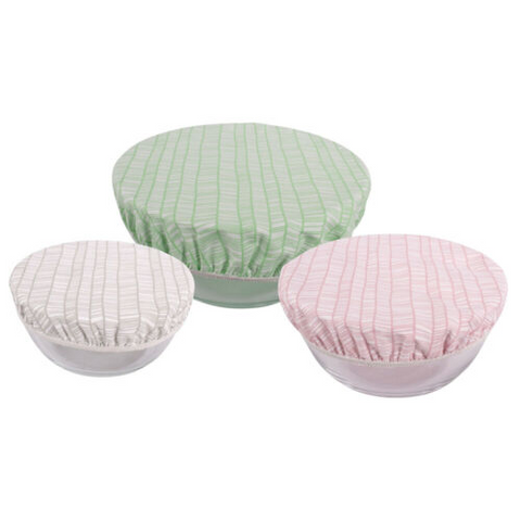 COVER - COTTON BOWL COVERS - SET OF 3 - KARLSTERT