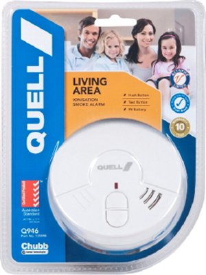 SMOKE ALARM IONISATION LIVING AREA Pk1 QUELL
