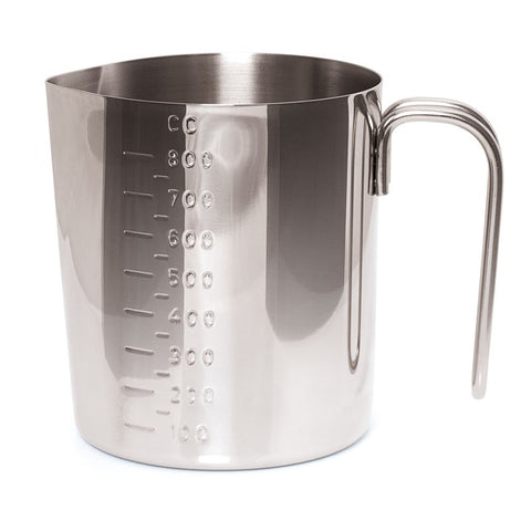 MEASURING JUG - ZEBRA - STAINLESS STEEL