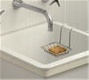 SOAP HOLDER OVER TUB STAINLESS STEEL