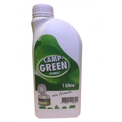 TOILET SANITISER - CAMP  GREEN - 1 Litre - STIMEX